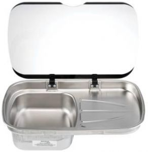 SPINFLO ARGENT RH SINK/GLASS